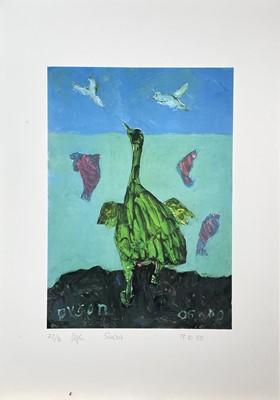Lot 387 - Julian DYSON (1936-2003) Seabird Lithograph...
