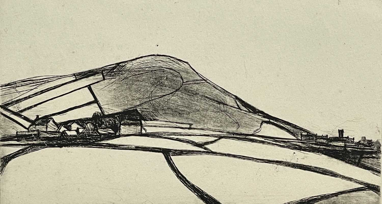 Lot 35 - Reg WATKISS (1933) Pendeen Engraving Etching...