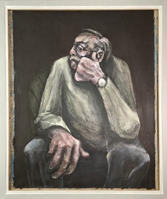 Lot 369 - Julian DYSON (1936-2003) Portrait of a Seated...