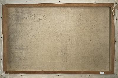 Lot 12 - Garlick BARNES (1891-1987) Reclining Nude Oil...