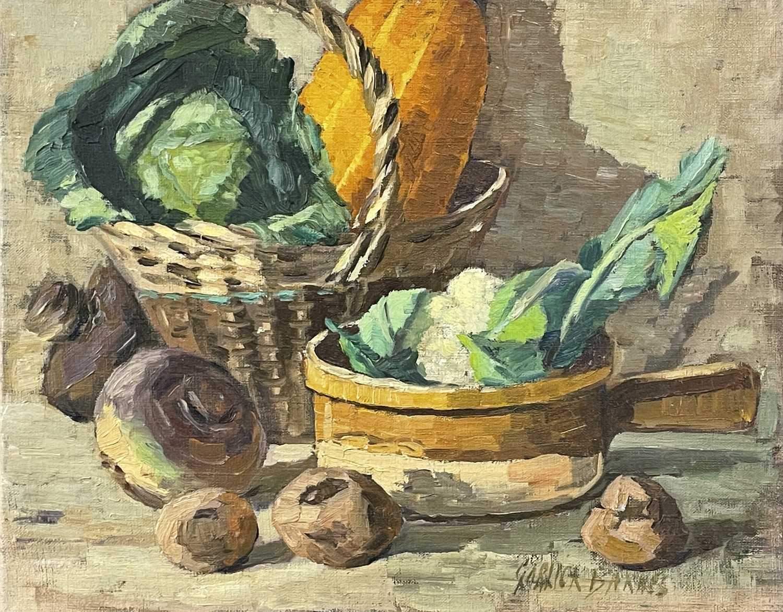 Lot 17 - Garlick BARNES (1891-1987) Still Life -...