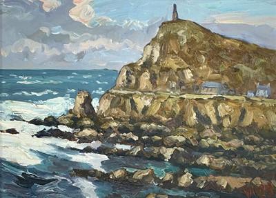 Lot 87 - Bob VIGG (1932-2001) Cape Cornwall Oil on...