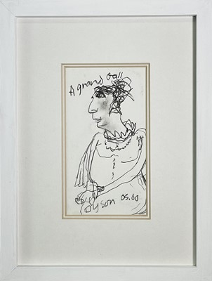 "Lot 413 - Julian DYSON (1936-2003) ""A Grand Ball""..."