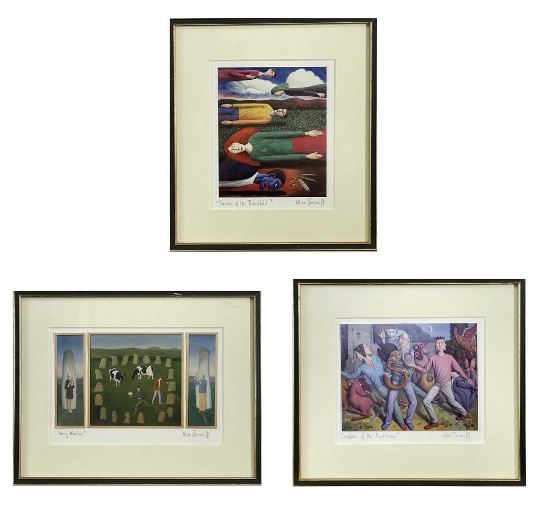 Lot 404 - Alex SMIRNOFF (1960) Three photographic prints...