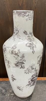 Lot 14 - A floor standing vase, 66cm high.