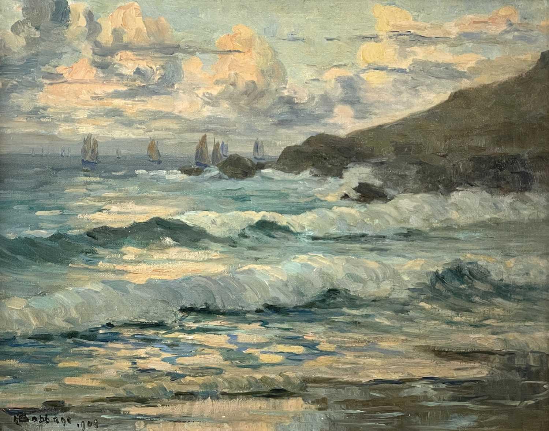 Lot 394 - Herbert Ivan BABBAGE (1875-1916) Fishing Fleet...