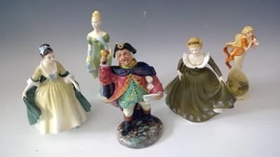 "Lot 13 - Royal Doulton figurine ""Town Crier"", Royal..."