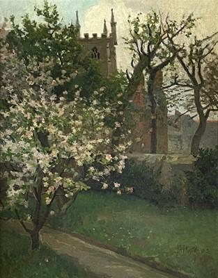 Lot 408 - John Anthony PARK (1880-1962) St Ia's Church,...