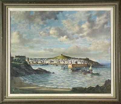 Lot 391 - Bernard NINNES (1899-1971) St Ives Oil on...