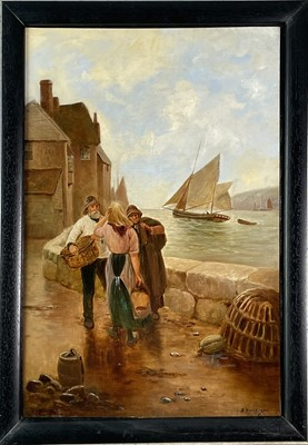 Lot 409 - B Davis (After Percy Robert Craft 1856-1934),...