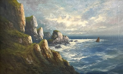 Lot 380 - Frank HIDER (1861-1933) Two oils on canvas...