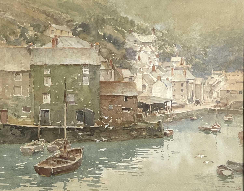Lot 350 - Henry C. JARVIS (1867-1955) Polperro...