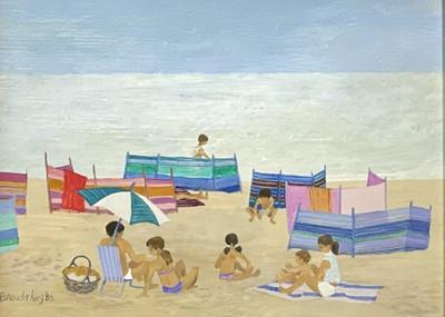 Lot 3 - Brenda KING (1934-2011) Windbreaks, Porthmeor...