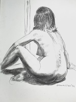 Lot 1017 - Alec WILES (1924) Nude drawings A collection...