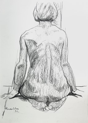 Lot 1010 - Alec WILES (1924) Nude drawings A collection...