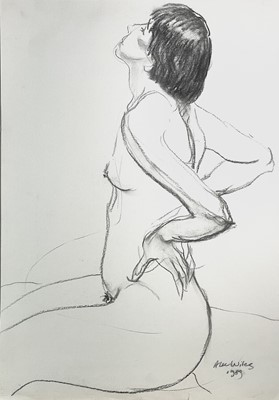 Lot 1011 - Alec WILES (1924) Nude drawings A collection...