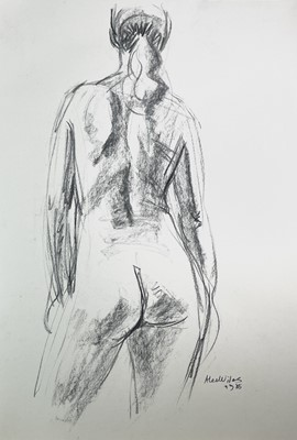 Lot 1012 - Alec WILES (1924) Nude drawings A collection...