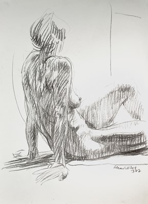 Lot 1013 - Alec WILES (1924) Nude drawings A collection...
