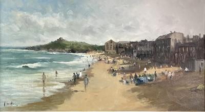 Lot 392 - John AMBROSE (1931-2010) Porthmeor Beach, St...