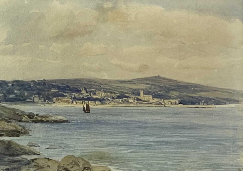 Lot 378 - Edmund G. FULLER (1858-1944) Penzance from...