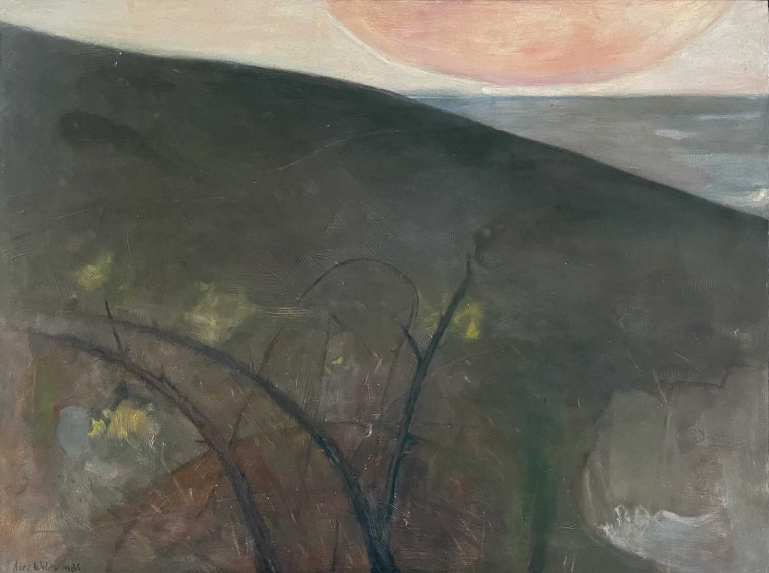 Lot 1009 - Alec WILES (1924) North Coast Cornwall Oil on...