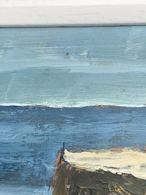 Lot 396 - Jack PENDER (1918-1998) Two Quays and Boat Oil...