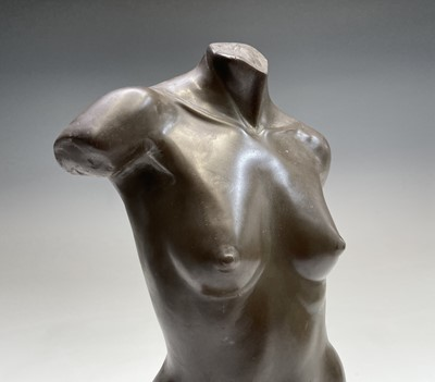Lot 1047 - Alec WILES (1924) Female Torso Cold cast...