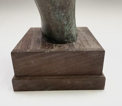 Lot 1048 - Alec WILES (1924) Hands Cold cast bronze...