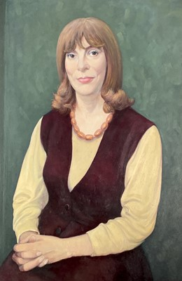 Lot 1015 - Alec WILES (1924) Six portraits in 0ils They...