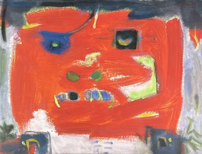 Lot 1000 - Alec WILES (1924) Untitled Oil on board Signed...