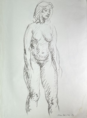 Lot 1022 - Alec WILES (1924) Twelve Nude drawings and two...