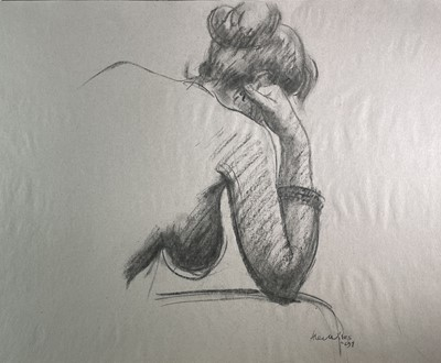Lot 1023 - Alec WILES (1924) Nude drawings A collection...