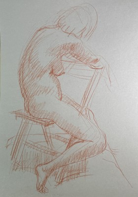 Lot 1024 - Alec WILES (1924) Nude drawings A collection...