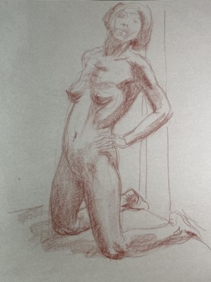 Lot 1025 - Alec WILES (1924) Nude drawings A collection...