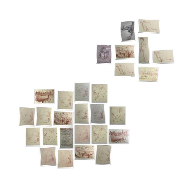 Lot 1033 - Alec WILES (1924) 26 Prints