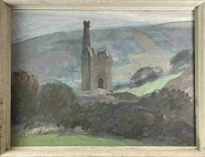 Lot 1038 - Alec WILES (1924) Engine House Oil on board...