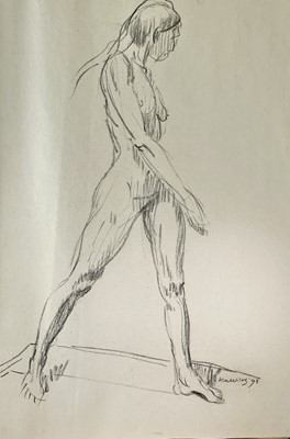 Lot 1044 - Alec WILES (1924) Nude drawings A collection...
