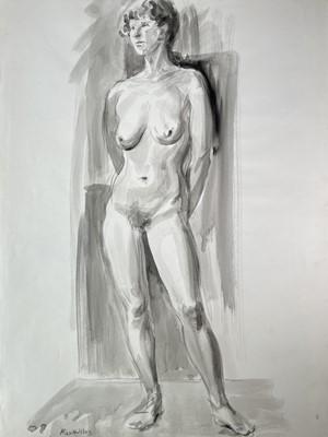 Lot 1045 - Alec WILES (1924) Noami FREARS (1963) Nude...
