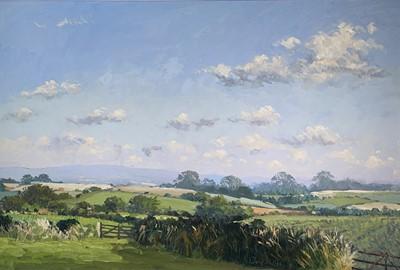 Lot 43 - John MILLER (1931-2002) Cornish Landscape Oil...