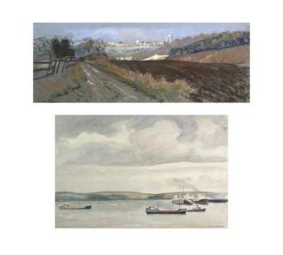 Lot 63 - Frank JAMESON (1899-1968) From Falmouth Docks...