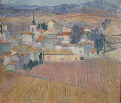 Lot 14 - June MILES (1924) French Landscape Oil on...