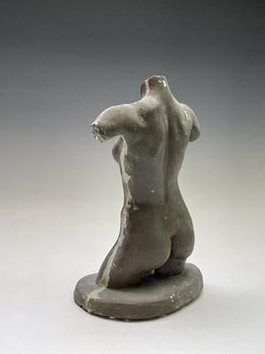 Lot 1050 - Alec WILES (1924) Female Torso Sculpture...