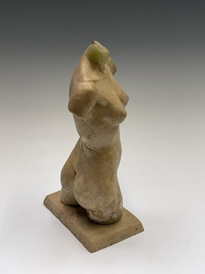 Lot 1052 - Alec WILES (1924) Female Torso Resin sculpture...