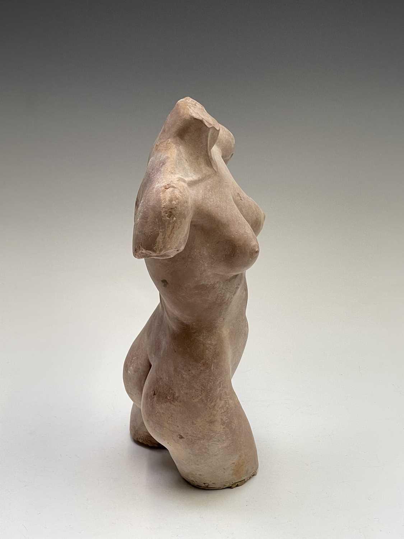 Lot 1053 - Alec WILES (1924) Female Torso Terracotta...