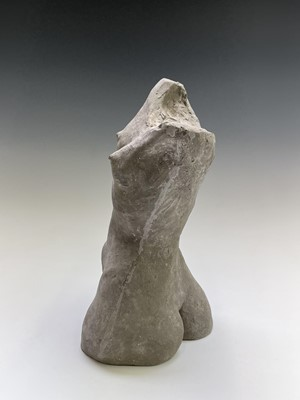 Lot 1054 - Alec WILES (1924) Female Torso Ciment fondu...