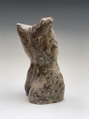 Lot 1061 - Alec WILES (1924) Female Torso Plaster...