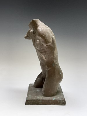 Lot 1063 - Alec WILES (1924) Males Torso Plaster and...