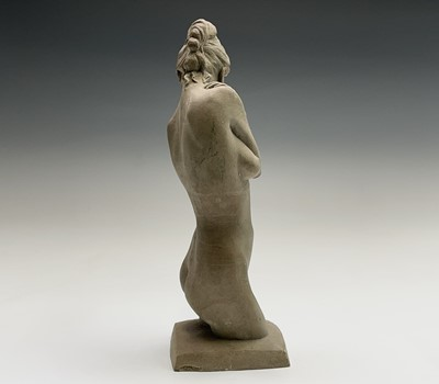 Lot 1077 - Alec WILES (1924) Female Form Two sculptures...