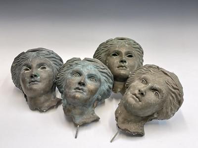 Lot 1082 - Alec WILES (1924) Aphrodite Four bronzed resin...