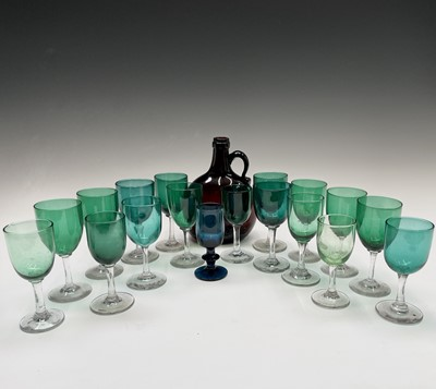 Lot 820 - An assortment of Victorian and later wine...